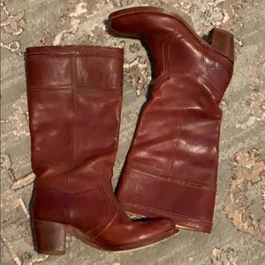 Frye Shoes - Frye Jane Motorcycle Boots Size 11